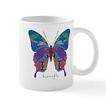 Exuberant Butterfly Mug