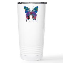 Exuberant Butterfly Stainless Steel Travel Mug