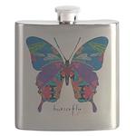 Exuberant Butterfly Flask