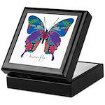 Exuberant Butterfly Keepsake Box