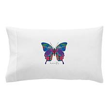 Exuberant Butterfly Pillow Case