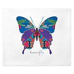 Exuberant Butterfly King Duvet