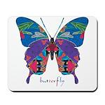 Exuberant Butterfly Mousepad
