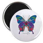 Exuberant Butterfly Magnet