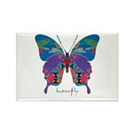 Exuberant Butterfly Rectangle Magnet (10 pack)