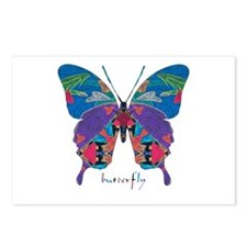 Exuberant Butterfly Postcards (Package of 8)