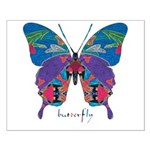 Exuberant Butterfly Small Poster