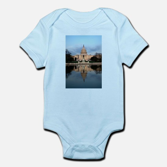 U.S. Capitol Building with Reflection Infant Bodys
