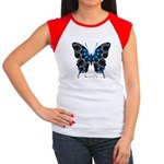 Witness Butterfly Women's Cap Sleeve T-Shirt