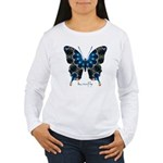 Witness Butterfly Women's Long Sleeve T-Shirt