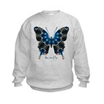 Witness Butterfly Kids Sweatshirt