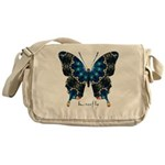 Witness Butterfly Messenger Bag