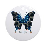 Witness Butterfly Ornament (Round)