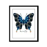 Witness Butterfly Framed Panel Print