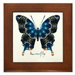 Witness Butterfly Framed Tile