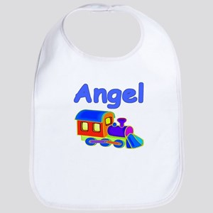 Train Engine Angel Bib