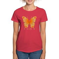 Jewel Butterfly Women's Dark T-Shirt