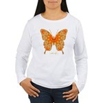 Jewel Butterfly Women's Long Sleeve T-Shirt