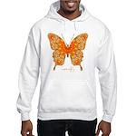Jewel Butterfly Hooded Sweatshirt