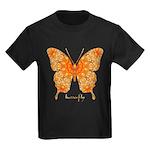 Jewel Butterfly Kids Dark T-Shirt