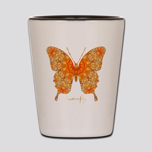 Jewel Butterfly Shot Glass