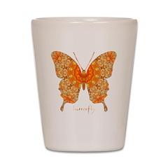 Jewel Butterfly Shot Glass