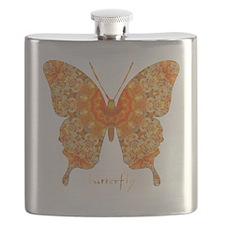 Jewel Butterfly Flask