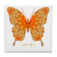 Jewel Butterfly Tile Coaster