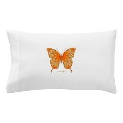 Jewel Butterfly Pillow Case