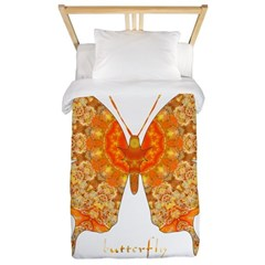 Jewel Butterfly Twin Duvet