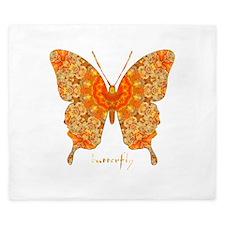 Jewel Butterfly King Duvet