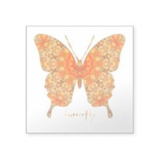 Jewel Butterfly Square Sticker 3
