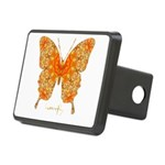 Jewel Butterfly Rectangular Hitch Cover