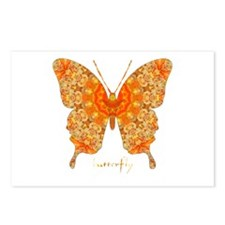 Jewel Butterfly Postcards (Package of 8)