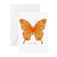 Jewel Butterfly Greeting Cards (Pk of 10)