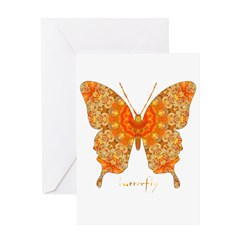 Jewel Butterfly Greeting Card