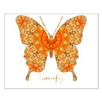 Jewel Butterfly Small Poster