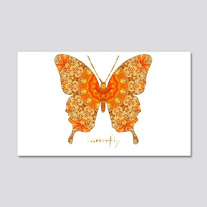 Jewel Butterfly 20x12 Wall Decal