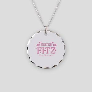 Team Mr Fitz - Pretty Little Liars Necklace Circle