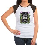The Ecto Radio Horror Show Women's Cap Sleeve T-Sh