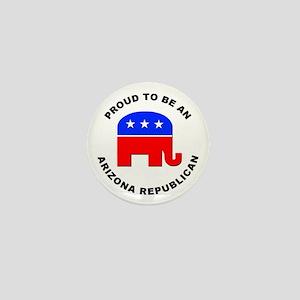 Arizona Republican Pride Mini Button