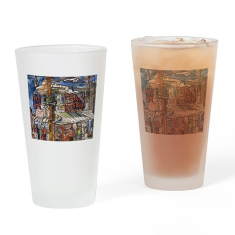 Philadelphia Pats CheeseSteak Drinking Glass