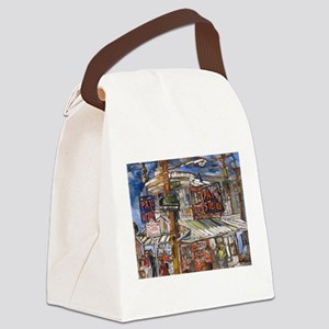 Philadelphia Pats CheeseSteak Canvas Lunch Bag