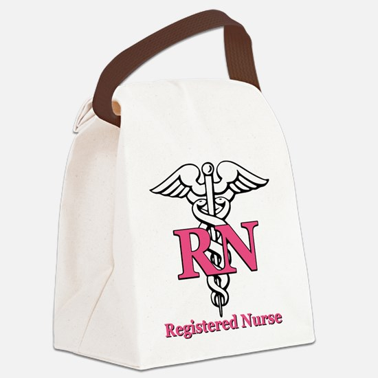 rn2.psd Canvas Lunch Bag