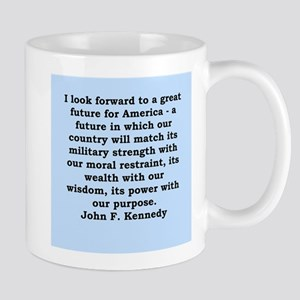 john f kennedy quote Mug