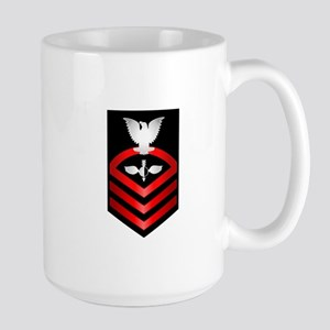 Navy Chief Aerographer Large Mug