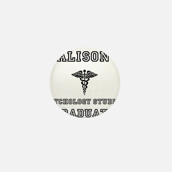 Alison Psych Grad Mini Button