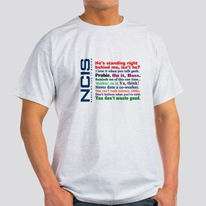NCIS Quotes Light T-Shirt