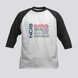 NCIS Quotes Kids Baseball Jersey