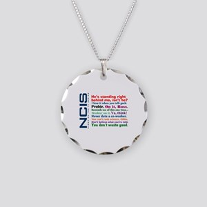 NCIS Quotes Necklace Circle Charm